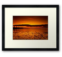 Just 2 C D C Framed Print