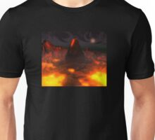 Glowing Volcano Unisex T-Shirt