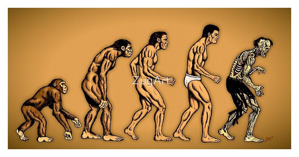 Zombie Evolution by ZugArt