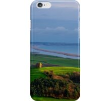 St Catherines Chapel and Chesil Beach iPhone Case/Skin