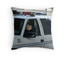 To Protect and Serve Throw Pillow