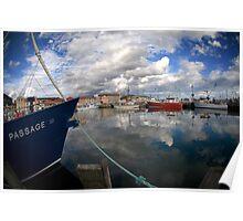 Tasmanian Harbour, Hobart Poster