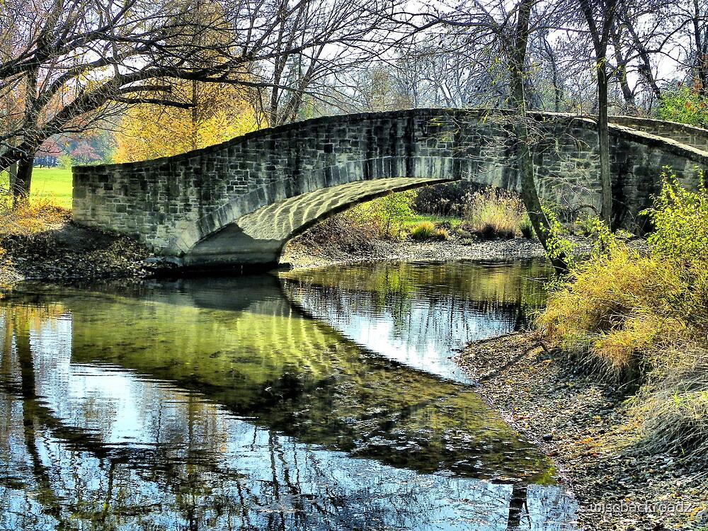 Autumn Reflections by wiscbackroadz