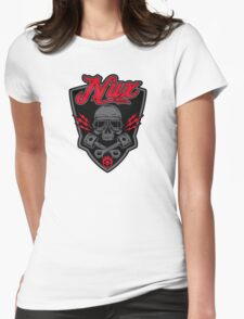 Nux car custom Womens Fitted T-Shirt