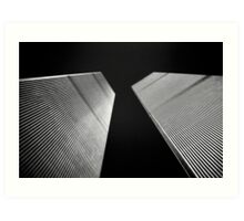 Twin Towers Art Print