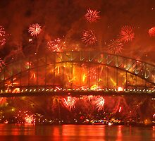 Explosions Around the Bridge (Sydney) by BGpix