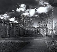 Cumberland Court BW by Anthony  Popalo