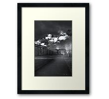 Cumberland Court BW Framed Print