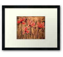 Opium Fields Forever Framed Print