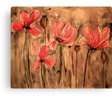 Opium Fields Forever Canvas Print