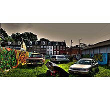 untitled graffiti Photographic Print