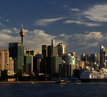 Late Sun on the City (Sydney) by BGpix