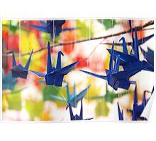 Paper Crane Poster