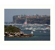 """Start of the """"Hobart"""" (Sydney) Art Print"""