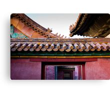 Winter in the Forbidden City Canvas Print
