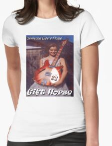 Someone Else's Flame Womens Fitted T-Shirt