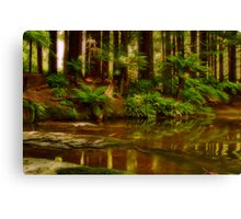 """Paradise Reflections"" Canvas Print"