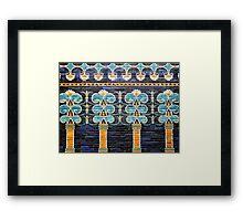 Ishtar Gate Framed Print