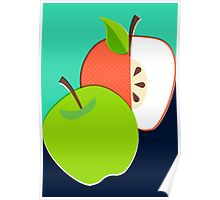 Retro Apple Poster