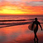 Moroccan Sunsets and Surfers by BGpix