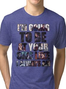 Merthur quote Tri-blend T-Shirt