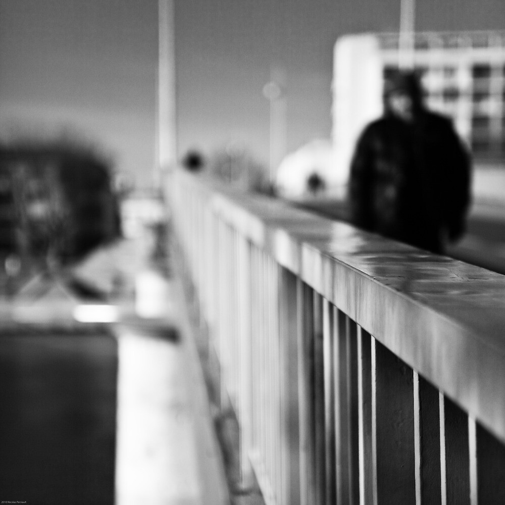Just Crossing - Arles, France - 2010 by Nicolas Perriault