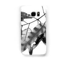 7DAY's Of SUMMER- NATURE COLLECTION-black leaves Samsung Galaxy Case/Skin