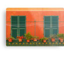 Orange Walls Metal Print