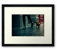 lisle street, china town, london Framed Print