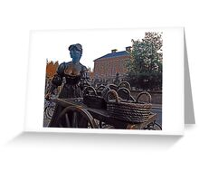 Cockles And Mussles -Molly Malone -Ireland Greeting Card