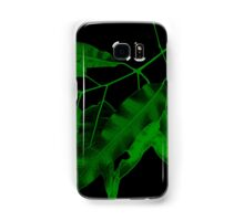 7DAY's Of SUMMER- NATURE COLLECTION-green leaves Samsung Galaxy Case/Skin