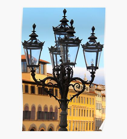 Florence Lamp Poster