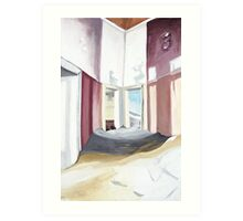corridor to the past Art Print