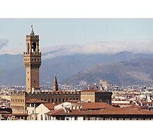 Palazzo Vecchio Photographic Print