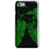7DAY's Of SUMMER- NATURE COLLECTION-Eco green iPhone Case/Skin
