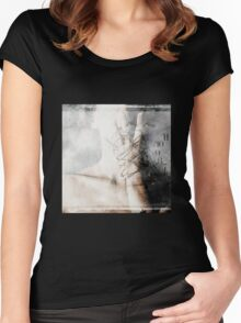 No Title 3 Women's Fitted Scoop T-Shirt