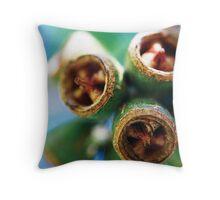 Gum nuts - Boronia Throw Pillow