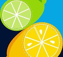 Retro Lemon & Lime by SamOssie