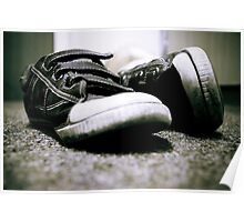 Worn down shoes Poster