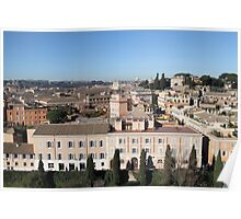 View From The Palatine Poster