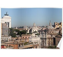 Rome View Poster
