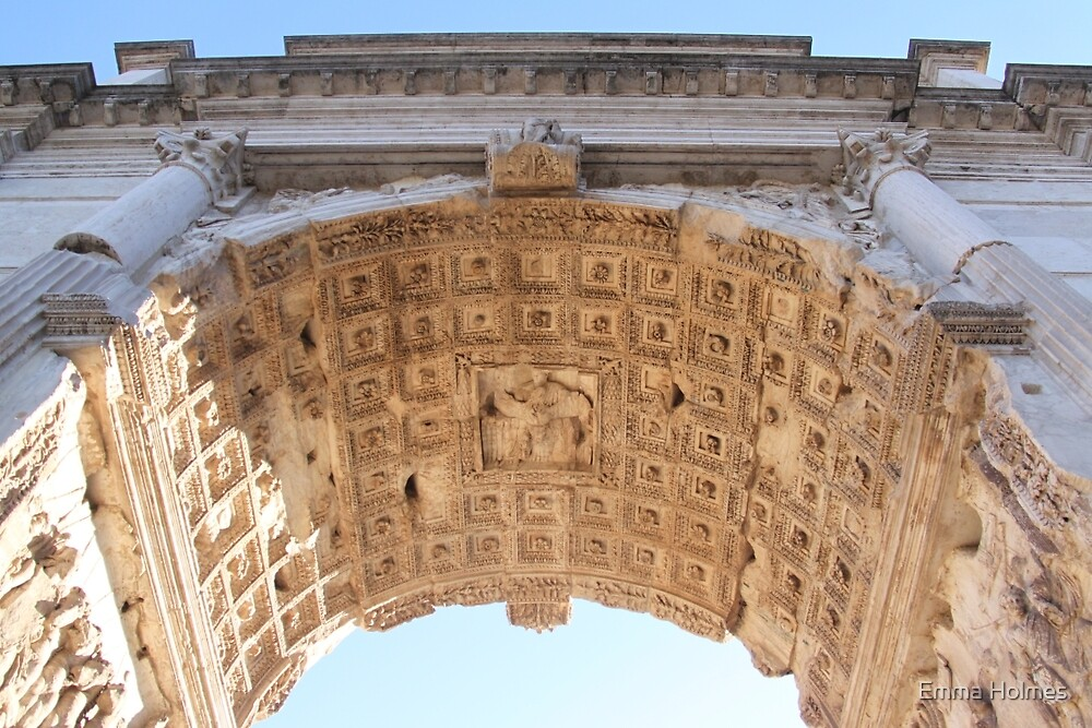 Arch of Constantine by Emma Holmes