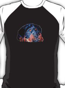 Pop Art RottweilerPuppy T-Shirt