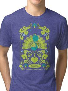 peacocks Tri-blend T-Shirt