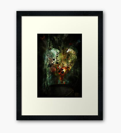 Heart of All Framed Print