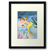 Mermaid Belle Framed Print