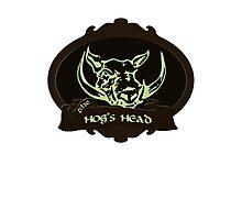 Hog's Head Photographic Print