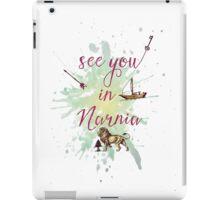 See you in Narnia iPad Case/Skin