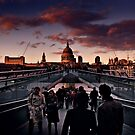 Millennium Bridge - London by Tony Elieh