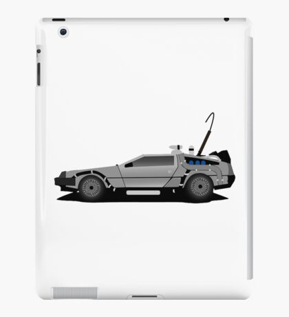 The DeLorean Time Machine, Back to the Future iPad Case/Skin